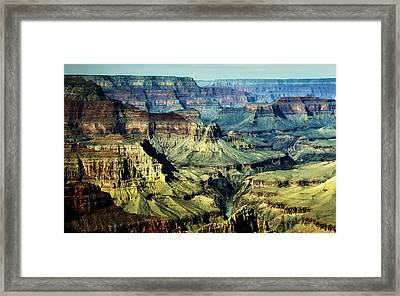 Grand Canyon West Rim Framed Print