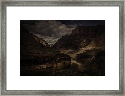 Framed Print featuring the photograph Grand Canyon - West Rim by Ryan Photography