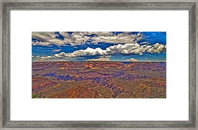 Grand Canyon Framed Print by William Wetmore