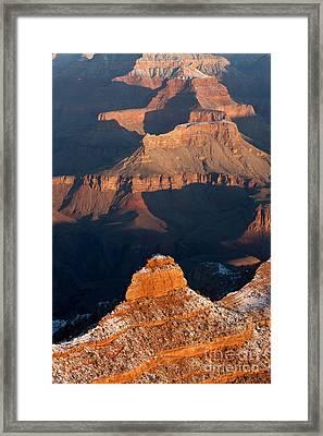 Grand Canyon Yaki Point Framed Print