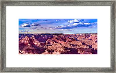Grand Canyons Mather Point Framed Print