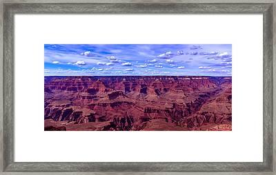 Grand Canyons Panaroma Framed Print