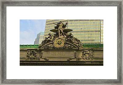Grand Central Entrance Framed Print