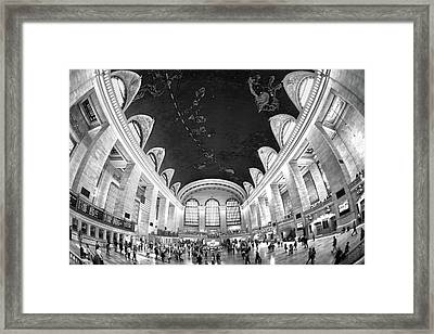 Framed Print featuring the photograph Grand Central Station by Mitch Cat
