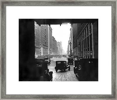 Grand Central Station Portal Framed Print by Underwood Archives