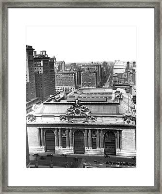 Grand Central Station Framed Print by Underwood & Underwood