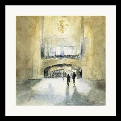 Grand Central Station Framed Prints
