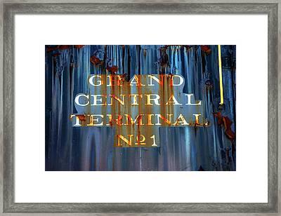 Grand Central Terminal No 1 Framed Print