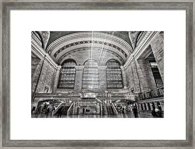 Grand Central Terminal Station Framed Print
