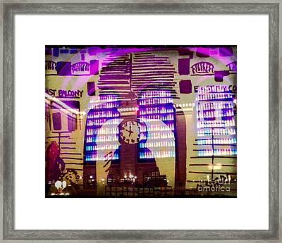 Grand Central Terminal  Framed Print by Wolf Gang