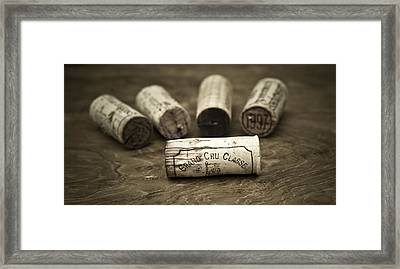 Grand Cru Classe Framed Print