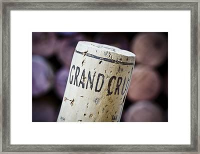 Grand Cru Framed Print by Frank Tschakert