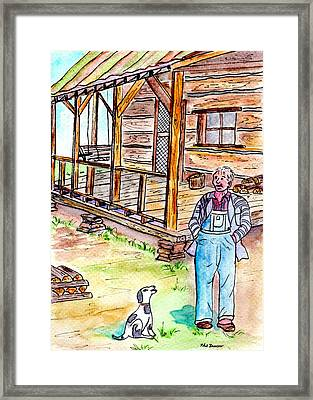 Grand Dads Place Framed Print by Philip Bracco