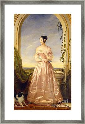 Grand Duchess Of Russia Framed Print