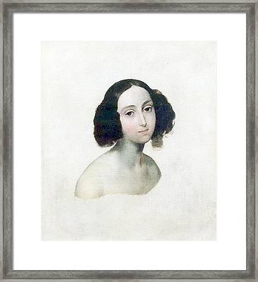 Grand Duchess Olga Nikolaevn Framed Print