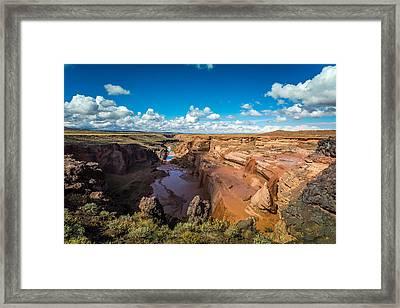 Grand Falls #4 Framed Print