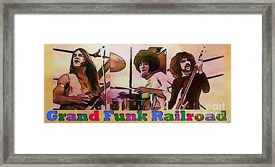 Grand Funk Railroad Framed Print