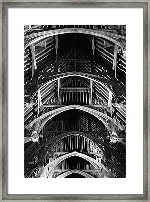 Grand Hall Ceiling Framed Print