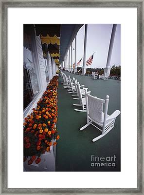Grand Hotel, Mackinac Island Framed Print