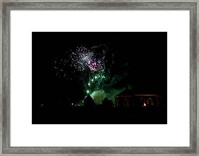 Grand Illuminaiton 2015 13 Framed Print by Teresa Mucha