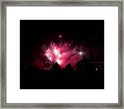 Grand Illuminaiton 2015 21 Framed Print by Teresa Mucha