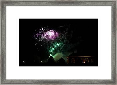 Grand Illumination 2015 16 Framed Print by Teresa Mucha