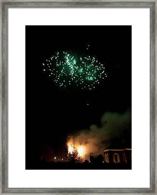 Grand Illumination 2015 38 Framed Print by Teresa Mucha