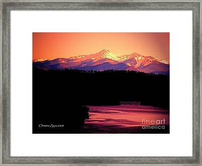 Grand Lake Framed Print
