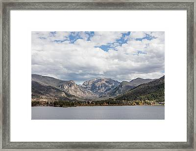 Framed Print featuring the photograph Grand Lake -- Largest Body Of Water In Colorado by Carol M Highsmith