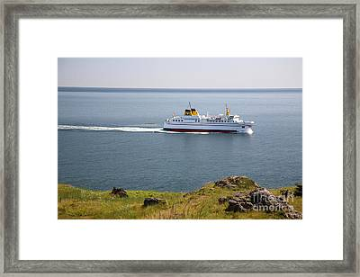 Grand Manan Ferry Framed Print