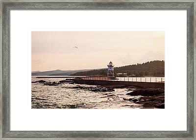 Grand Marais Shore Framed Print