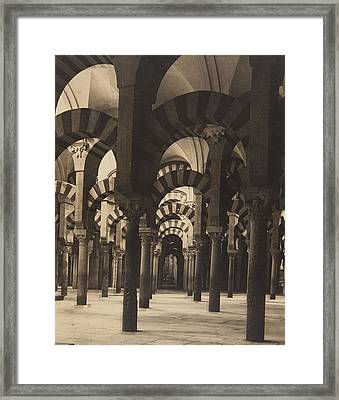 Grand Mosque Cordoba Framed Print by Claudi Carbonell