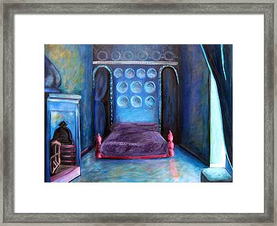 Grand Nap Framed Print by Rebecca Merola