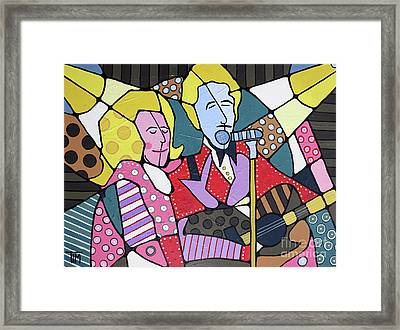Grand Ole Opry 1968 Framed Print by Tim Ross