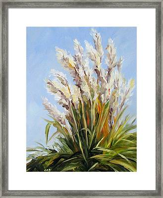 Grand Pampas Framed Print by Cheryl Pass