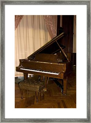 Grand Piano Framed Print by Sally Weigand