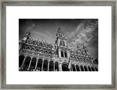 Grand Place Architecture Brussels  Framed Print