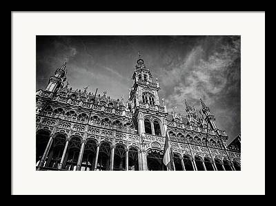 The Grand Place Framed Prints