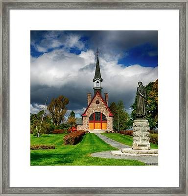 Grand-pre National Historic Site 06 Framed Print by Ken Morris