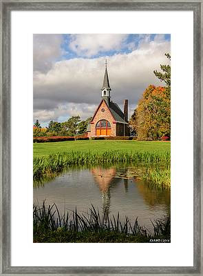 Grand-pre National Historic Site 01 Framed Print by Ken Morris