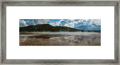 Grand Prismatic Spring Framed Print