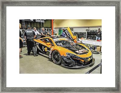 Grand Prix Pit Operations Framed Print