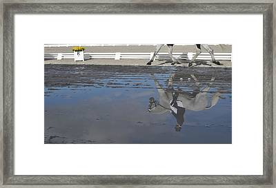 Grand Prix Reflected Framed Print by JAMART Photography
