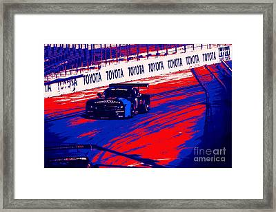 Grand Prix Stylin Framed Print