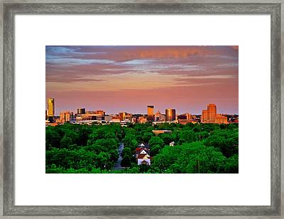 Grand Rapids Mi- 10 The Art Prize Framed Print by Robert Pearson