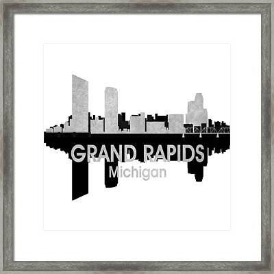 Grand Rapids Mi 4 Squared Framed Print