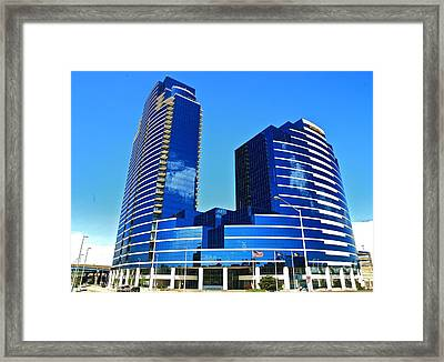 Grand Rapids Mi- 9 Dressed In Blue Framed Print by Robert Pearson
