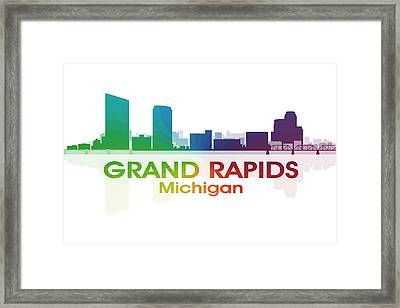 Grand Rapids Mi Framed Print