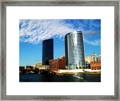 Grand Rapids Michigan Is Grand Framed Print