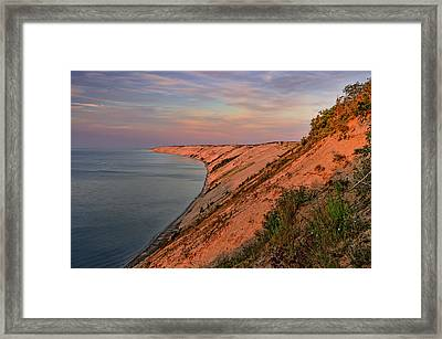 Framed Print featuring the photograph Grand Sable Dunes by Thomas Gaitley